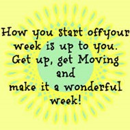 Get Up and Get Moving Week & Trivia Questions!!