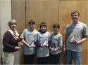 Congratulations CCMS Math Counts Team