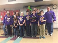 CCMS Academic Team Repeats as Regional Champs!!!!