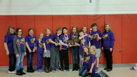 Campbell Ridge Academic Team Governor's Cup Champions