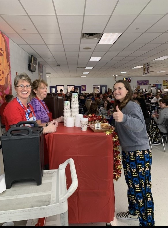 CCHS Hot Chocolate Day for Seniors!!
