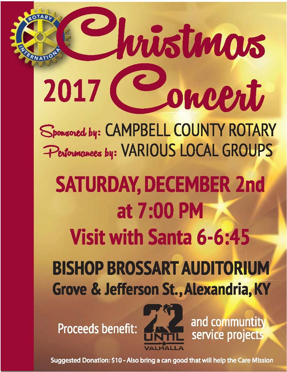 Christmas Concert And A Visit From Santa Campbell County