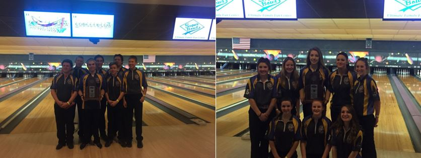 boys and girls bowling teams