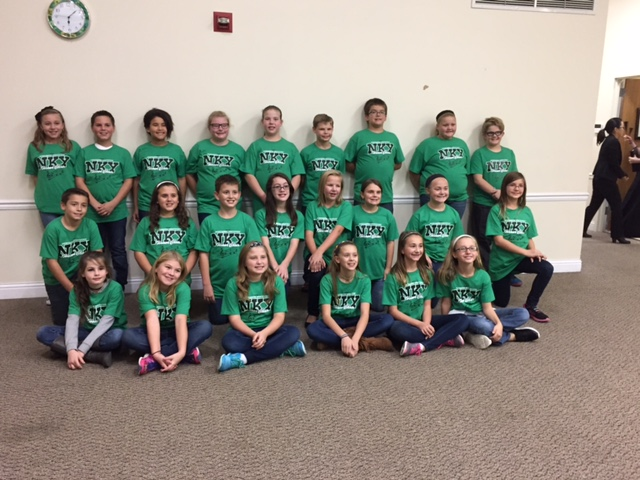 NKY Honor Choir Students