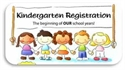 Kindergarten Registration Is Set