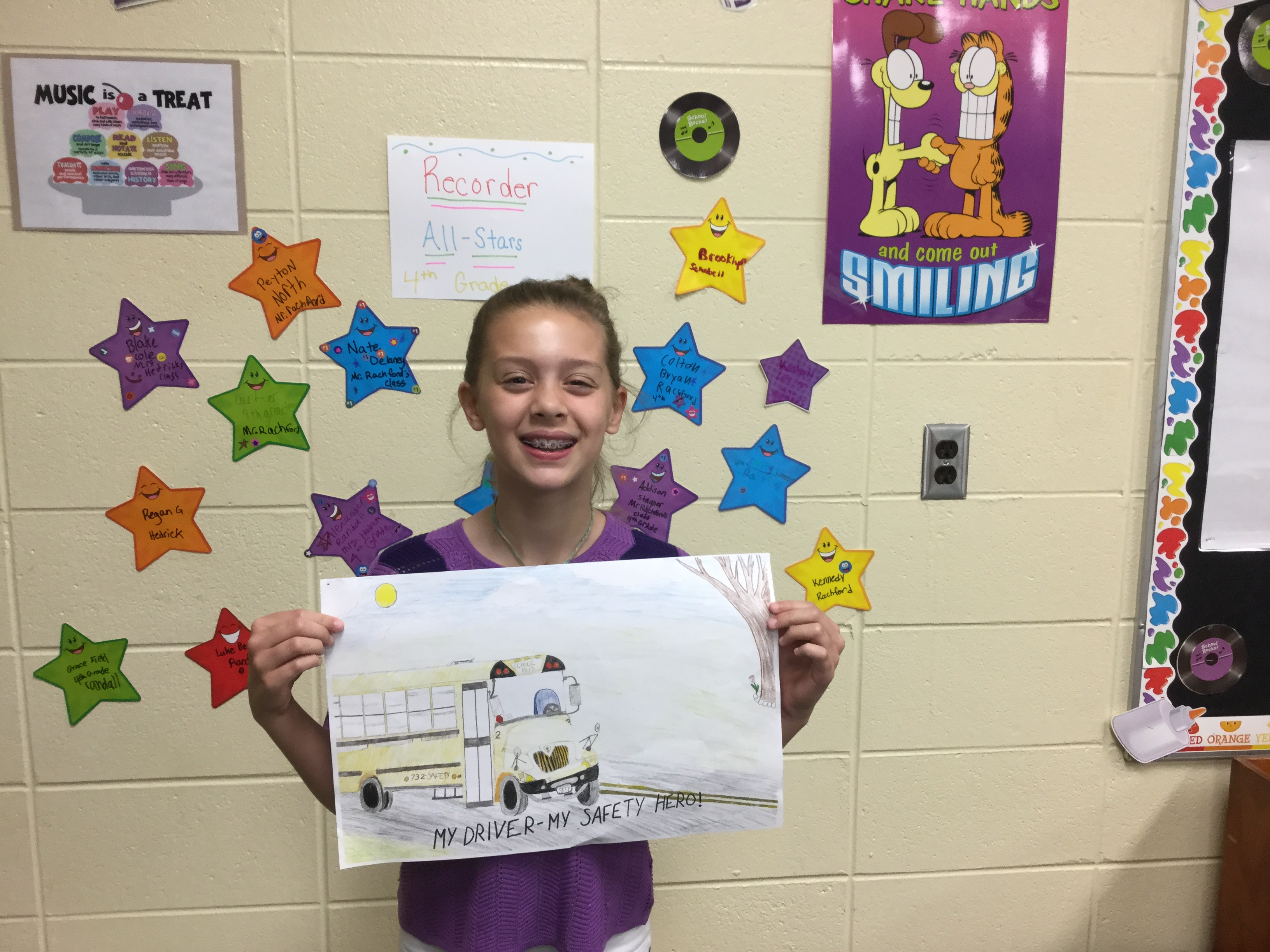 Reiley student wins poster contest
