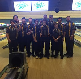 CCHS Boys Bowling Team is Regional Champion!
