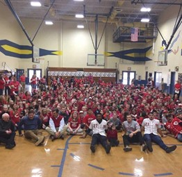 Cincinnati Reds Day at Reiley Elementary