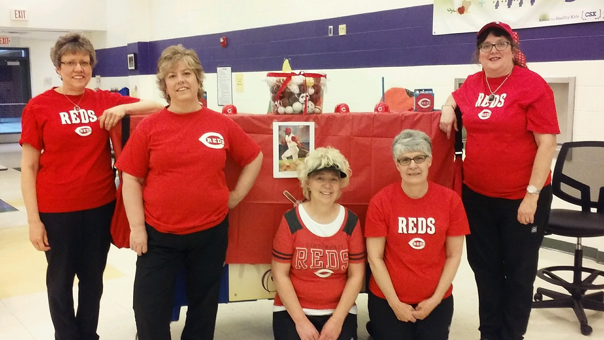 Campbell Ridge Elementary - Reds Day